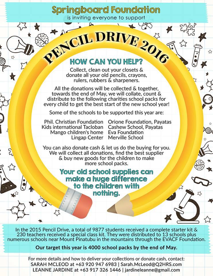 Pencil Drive 2016