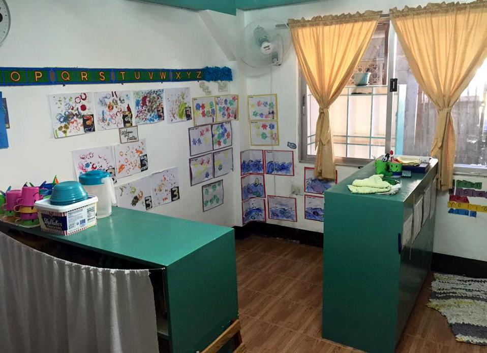 Renovated classroom